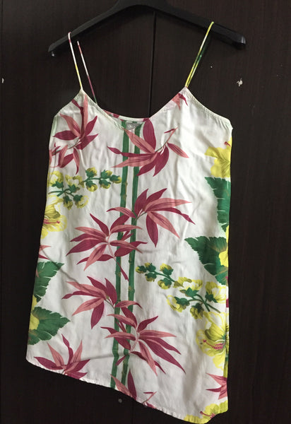 The Bamboo Tree, Floral Spaghetti Top