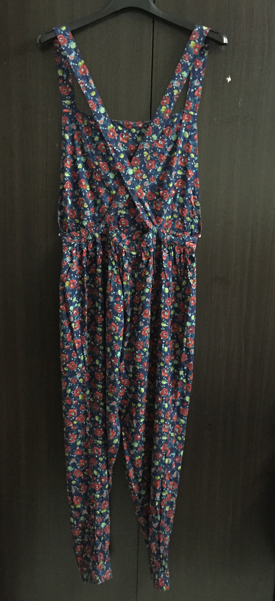Multicolor Vibrant Dangri Dress