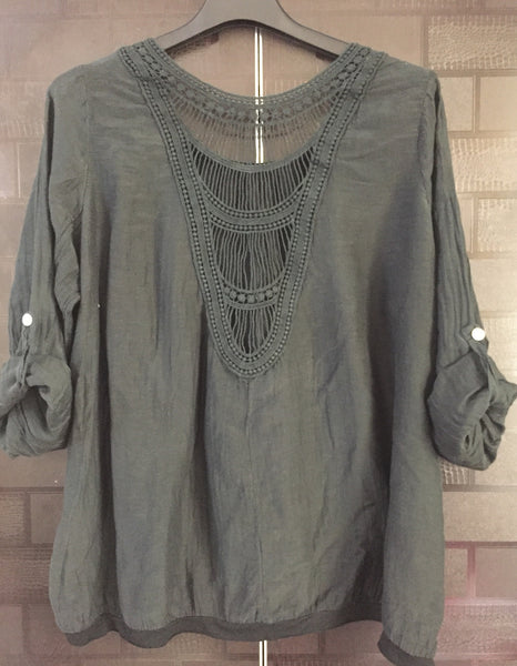 Comfy Fit - Stylish Back, Black Casual Top