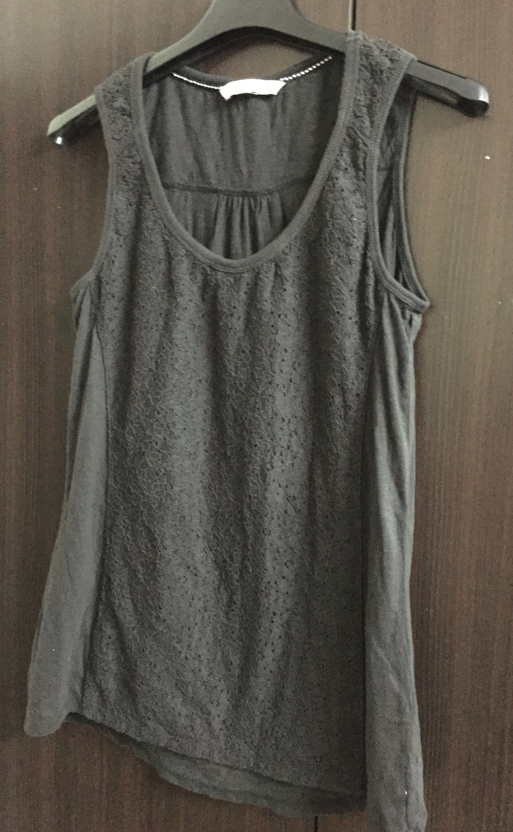 Comfy Fit Black Sleeveless Top
