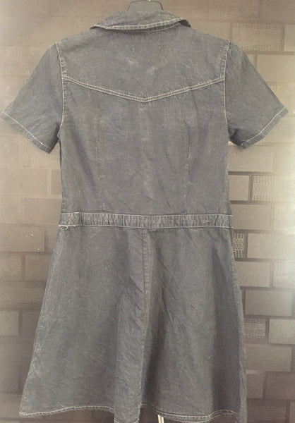 Denim Feel - Light Greyish Black Dress