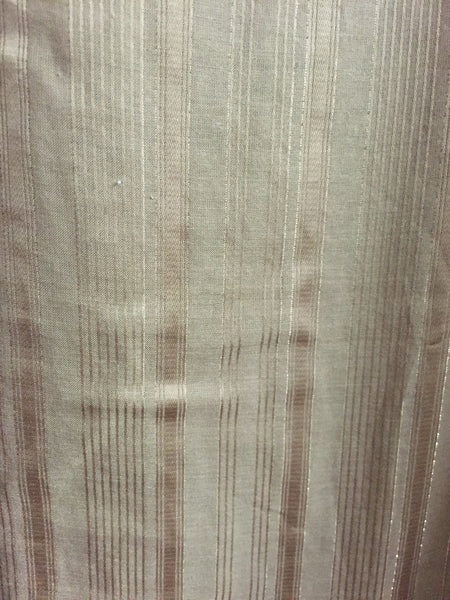 Brown Cotton Top with Golden Stripes - #FTFY - For The Fun Years