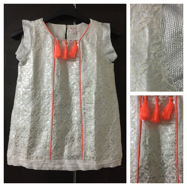 Neon and Silver, Sleeveless Top