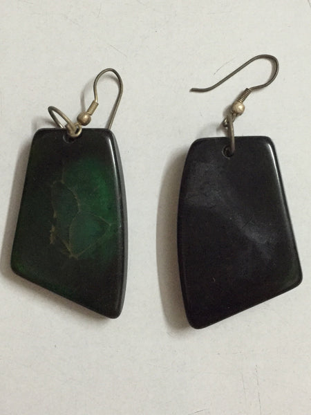 Green Karma Earrings