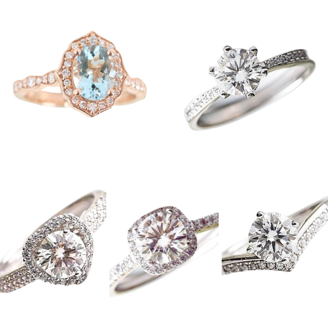 Affordable Engagement Rings In 18k Gold Affordagold Jewelry