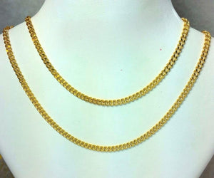 21K Gold Necklace 104713 - ZNZ Jewelry Philippines