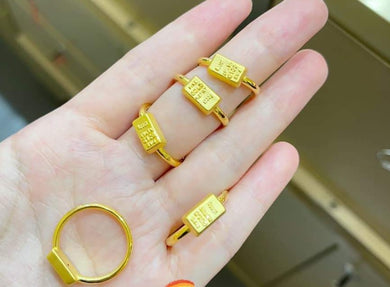 24k gold bullion ring