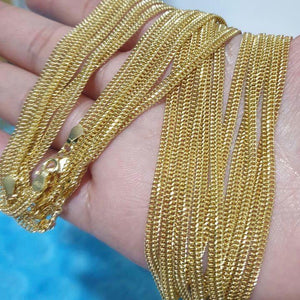 18K Gold Chain Necklace 21jntt2 - ZNZ Jewelry Philippines
