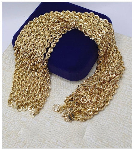 Rope Bracelet 18K Gold 22jn12 - ZNZ Jewelry Philippines