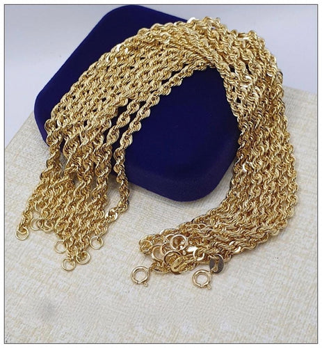 Rope Bracelet 18K Gold 22jn13 - ZNZ Jewelry Philippines