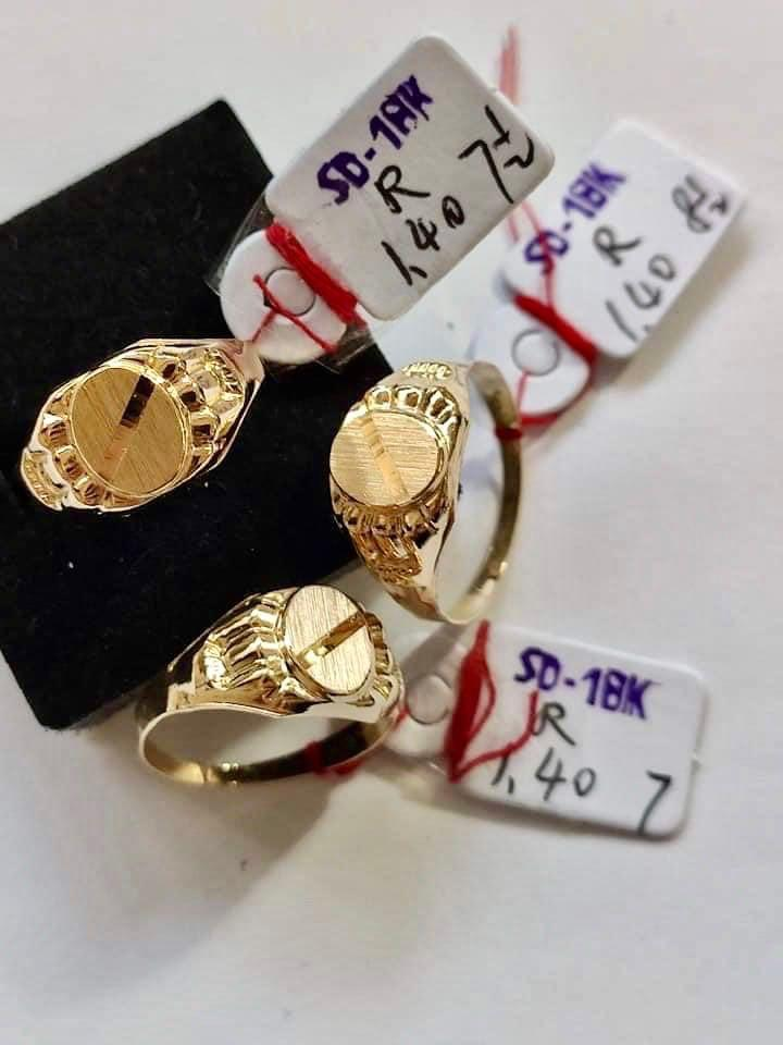 Men's Ring 18K Gold 26jn13 - ZNZ Jewelry Philippines