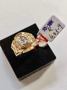 Men's Ring 18K Gold 26jn20 - ZNZ Jewelry Philippines