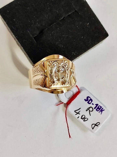 Men's Ring 18K Gold 26jn22 - ZNZ Jewelry Philippines