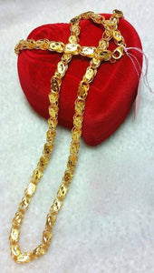 21K Gold Necklace 10471 - ZNZ Jewelry Philippines