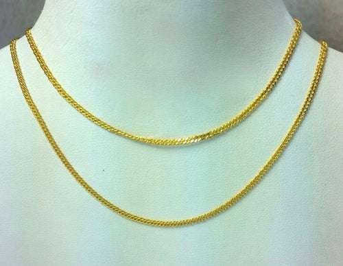 21K Gold Necklace 104736 - ZNZ Jewelry Philippines