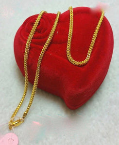 21K Gold Necklace 10472 - ZNZ Jewelry Philippines