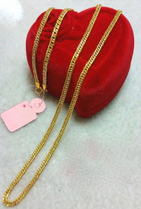 21K Gold Necklace 10473 - ZNZ Jewelry Philippines