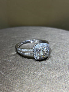 ALICE Diamond Ladies Ring - ZNZ Jewelry Philippines