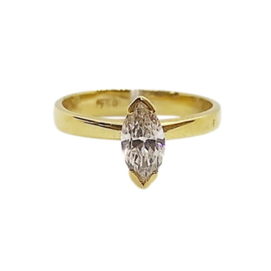 .40ctw Marquis Diamond Engagement Ring, 14K Yellow Gold, Ladies' Ring, Anniversary or Birthday Gift