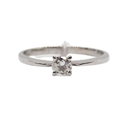 .20ct Diamond Engagement Ring 14K White Gold, Ladies' Ring, Anniversary or Birthday Gift