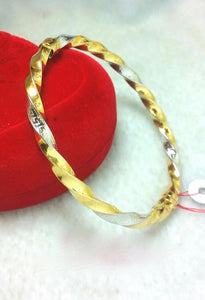 Bangle 18K Gold 828115 - ZNZ Jewelry Philippines