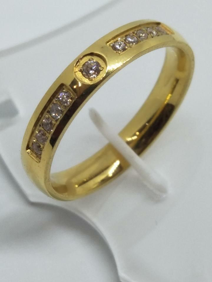 8K Italy Gold Wedding Rings 43831 - ZNZ Jewelry Philippines