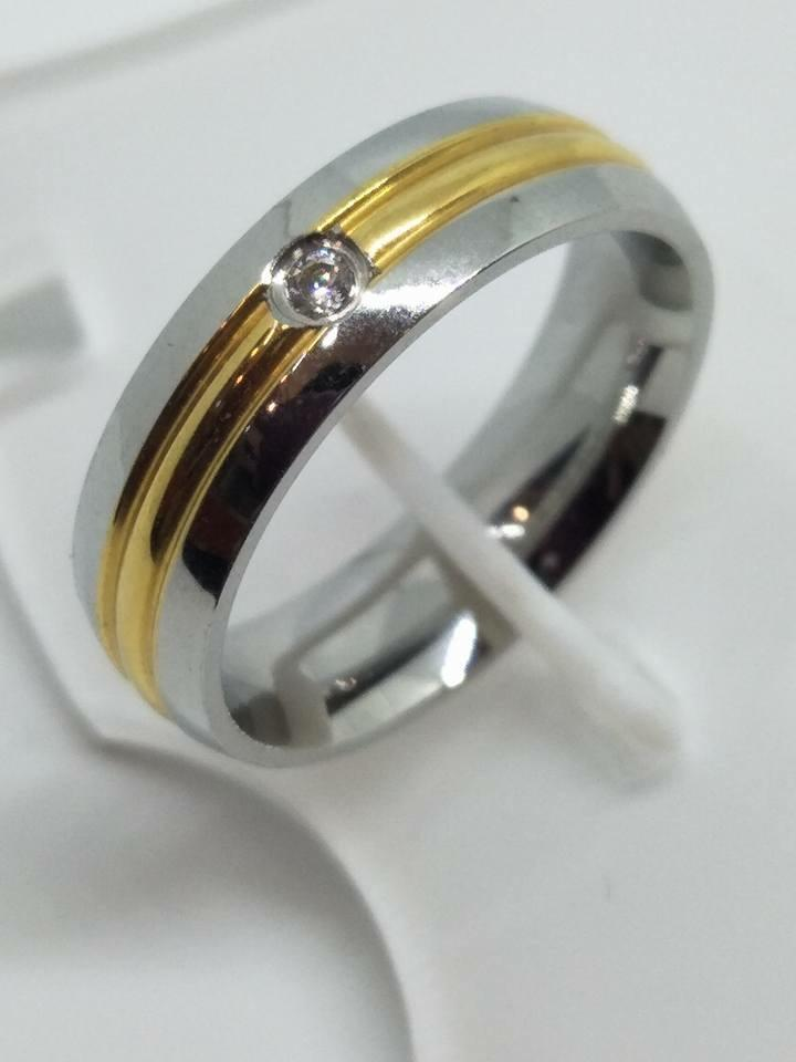 8K Italy Gold Wedding Rings 43832 - ZNZ Jewelry Philippines