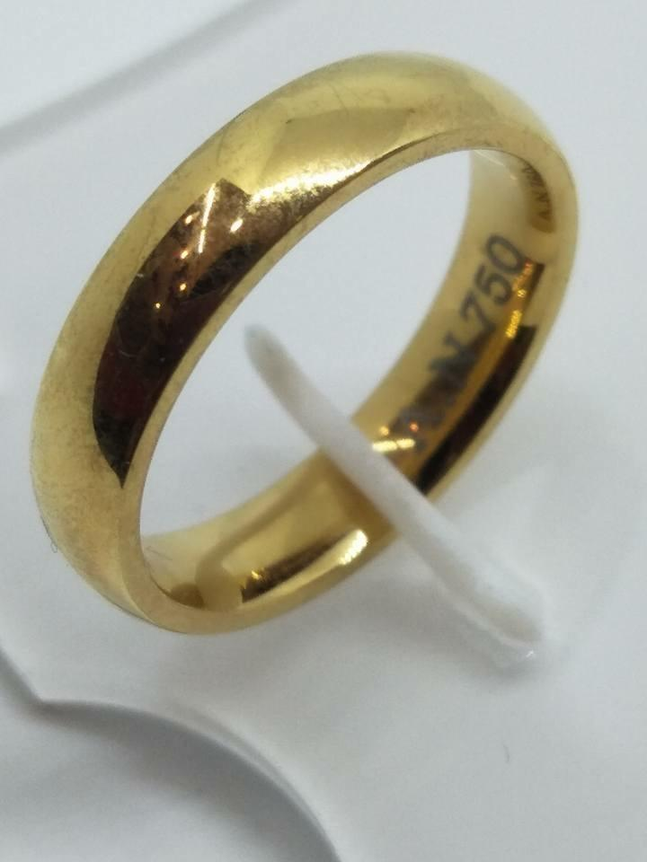 8K Italy Gold Wedding Rings 43835 - ZNZ Jewelry Philippines