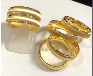CELYN 18K Gold Wedding Bands, Couple Rings - ZNZ Jewelry Philippines