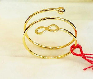 TWIST INFINITY Ring in 18K Gold - ZNZ Jewelry Philippines