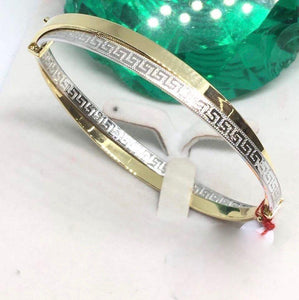18K Gold Bangle NTN16 - ZNZ Jewelry Philippines