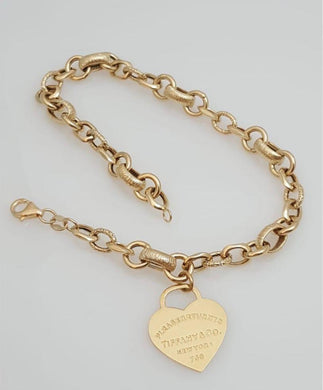 Tiff Bracelet 18K Gold - ZNZ Jewelry Philippines