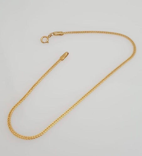 Flat Omega Bracelet 18K Gold - ZNZ Jewelry Philippines