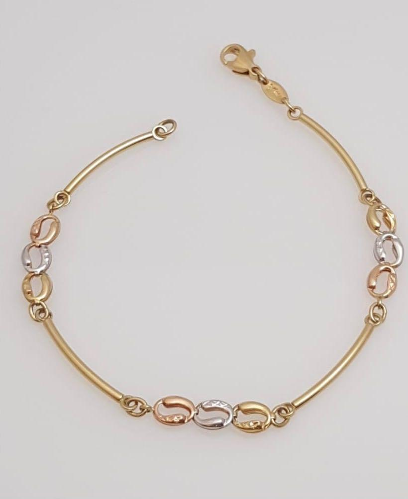 Rolo Bracelet 18K Gold - ZNZ Jewelry Philippines