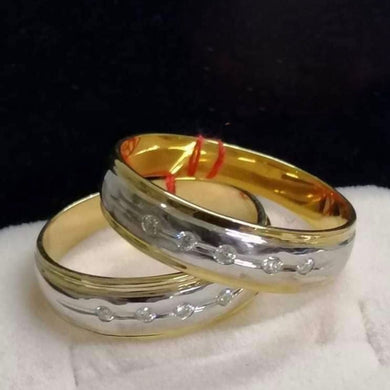 ROME Diamond Wedding Rings in 14K Gold