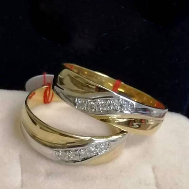 VERONA Diamond Wedding Rings in 14K Gold