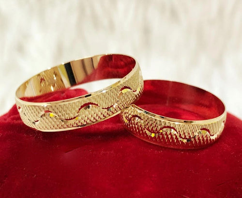 BLAKE 18K Wedding Rings - ZNZ Jewelry Philippines
