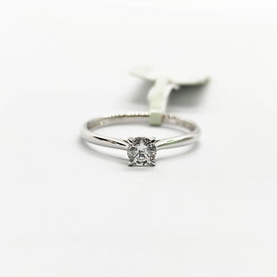 .30ct Diamond Solitaire 4-Prong Engagement Ring, Ladies' Ring, Anniversary or Birthday Gift
