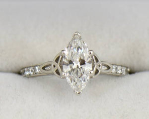 .40ct Marquis Diamond Ring Custom Order