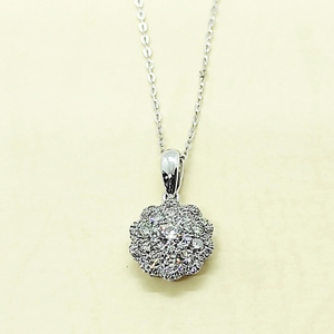 0.49ct Round Diamond Necklace