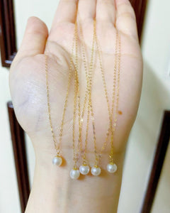 Pearl Necklace 18K Gold