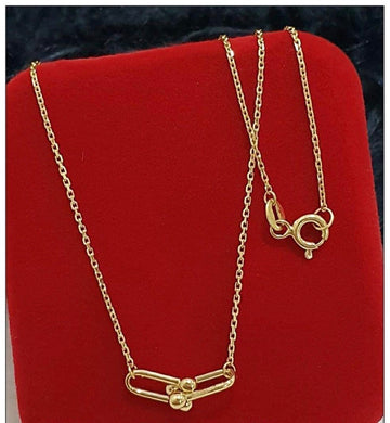 18K Gold Hardwear Necklace