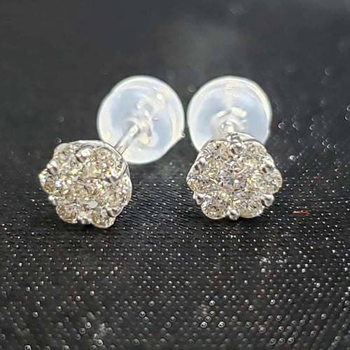Beatrix .50ct Diamond Earrings - ZNZ Jewelry Philippines