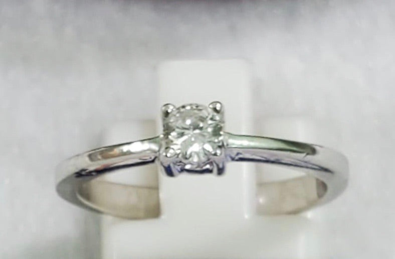 .10ct Diamond Solitaire Engagement Ring Pre-Order - ZNZ Jewelry Philippines