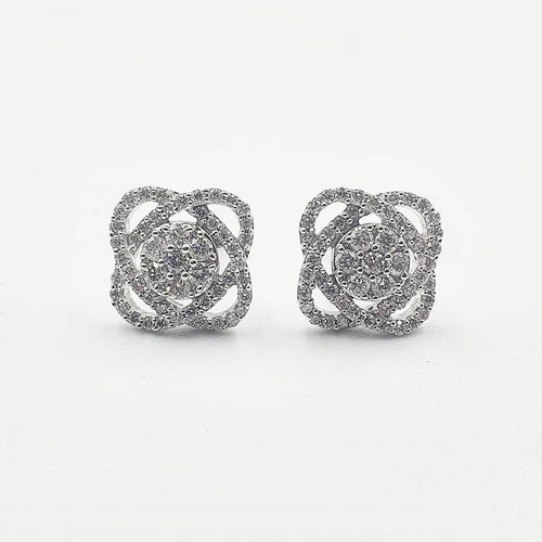 AMAL Diamond Earrings - ZNZ Jewelry Philippines