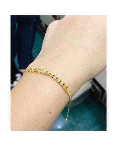 Feather Bracelet 18K Gold