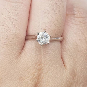 .50ct Diamond Engagement Ring, Women's Ring, Anniversary Gift, Birthday Gift, Graduation Gift, GIft to self