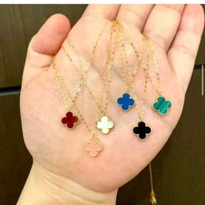 Clover Necklace 18K Gold