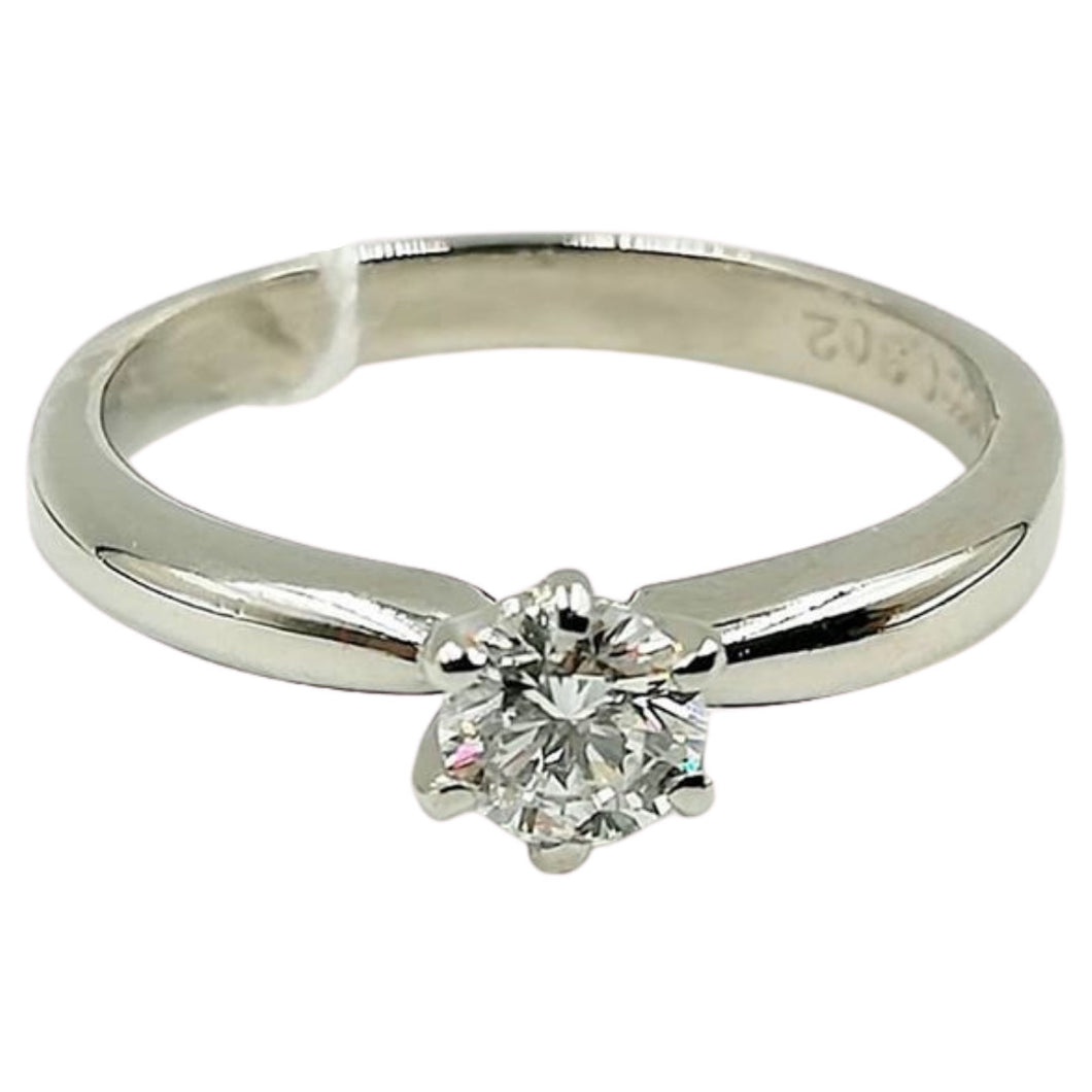 .30ct Diamond Solitaire 6-Prong Engagement Ring, Ladies' Ring, Anniversary or Birthday Gift