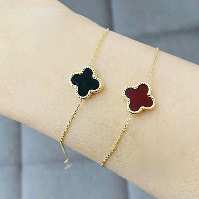 Clover Gold Bracelet for Women 18K